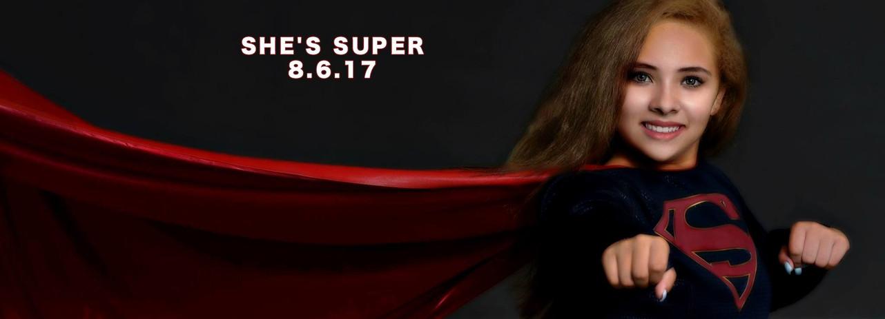 Stephanie as Supergirl