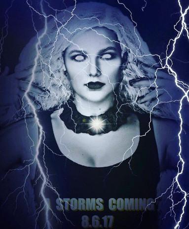 Leila as Storm