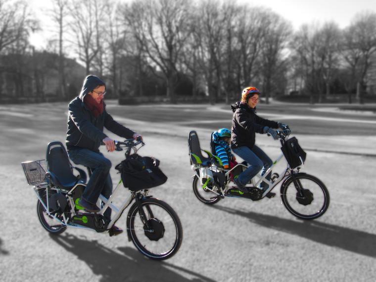 Vélo rallongé ou Longtail BIKE43