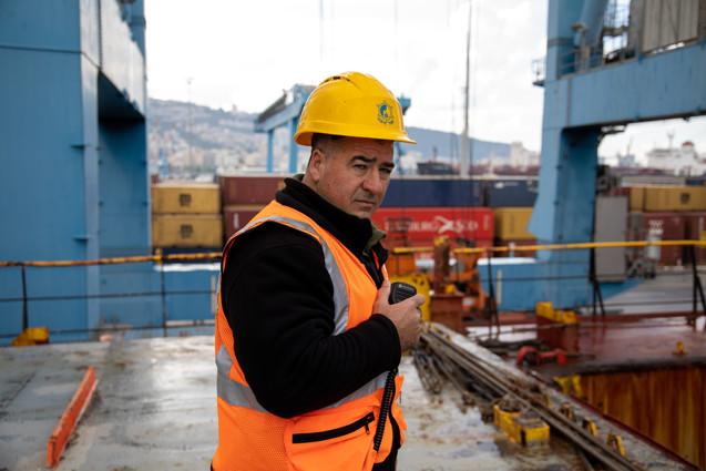 צילום מצטיינים בנמל חיפה