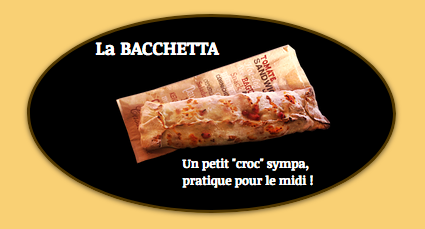 bacchetta, sandwich, chaud
