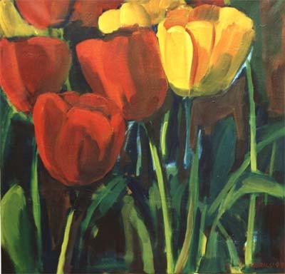 Tulpen 1 | 70x70cm