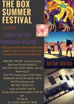 The box summerfestival