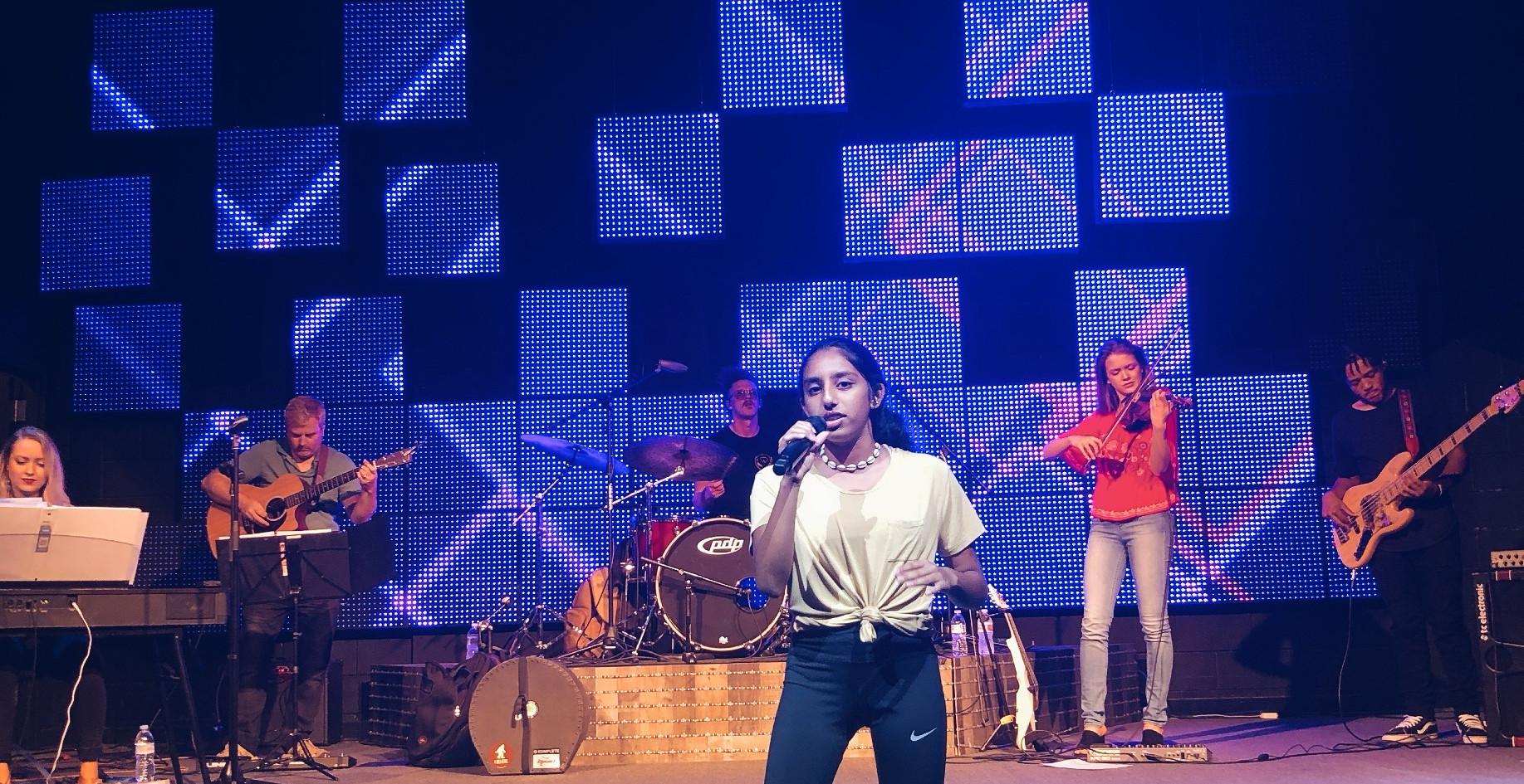 live band concert