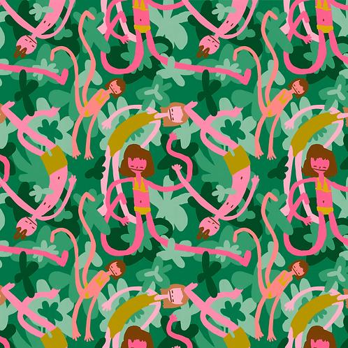 Swim Garden Print
