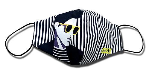 Striped Man Facemask
