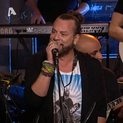 Christos Dantis wearing πλAy