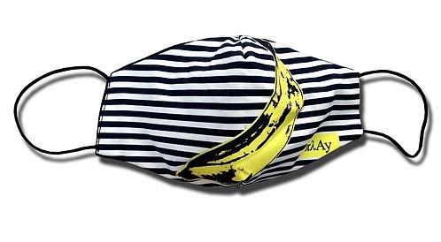 Striped Banana Facemask