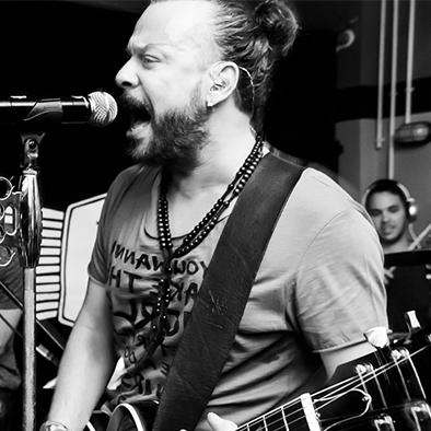 Rocking with Christos Dantis