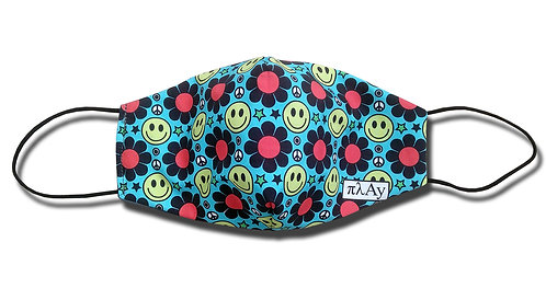 Smiley Pattern Facemask