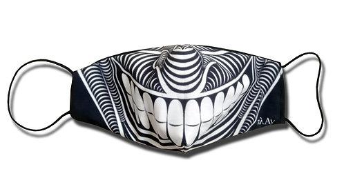 The Joker illustrated Facemask