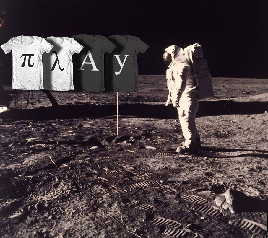 Man on the Moon by Play-Shirts