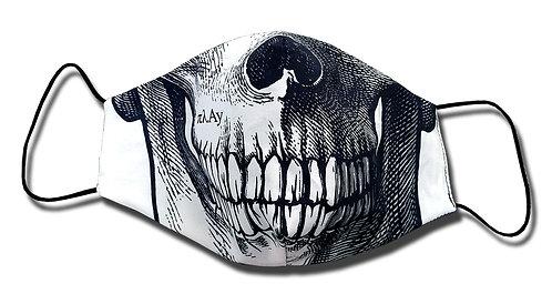 Sketchy Skull Facemask