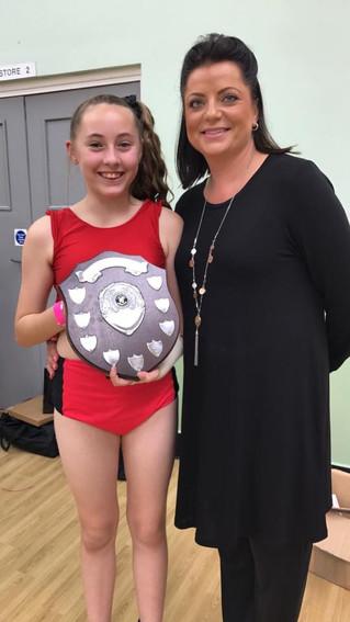 Scholarship winner SOPHIA ASHFORD!