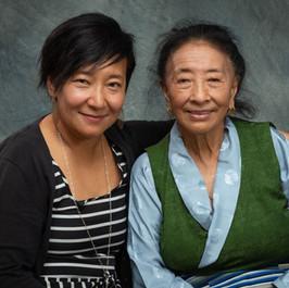Sonam Matho (left) and Pema Matho (right).