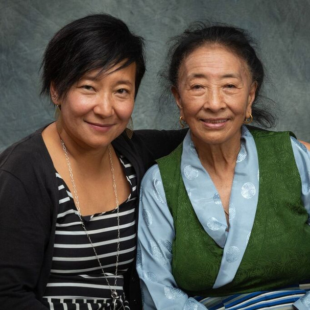 Sonam Matho (left) and Pema Matho (right).