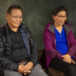 Yeshi Khedup Wangkang (left) and Yeshi Wangmo Duntak (right).