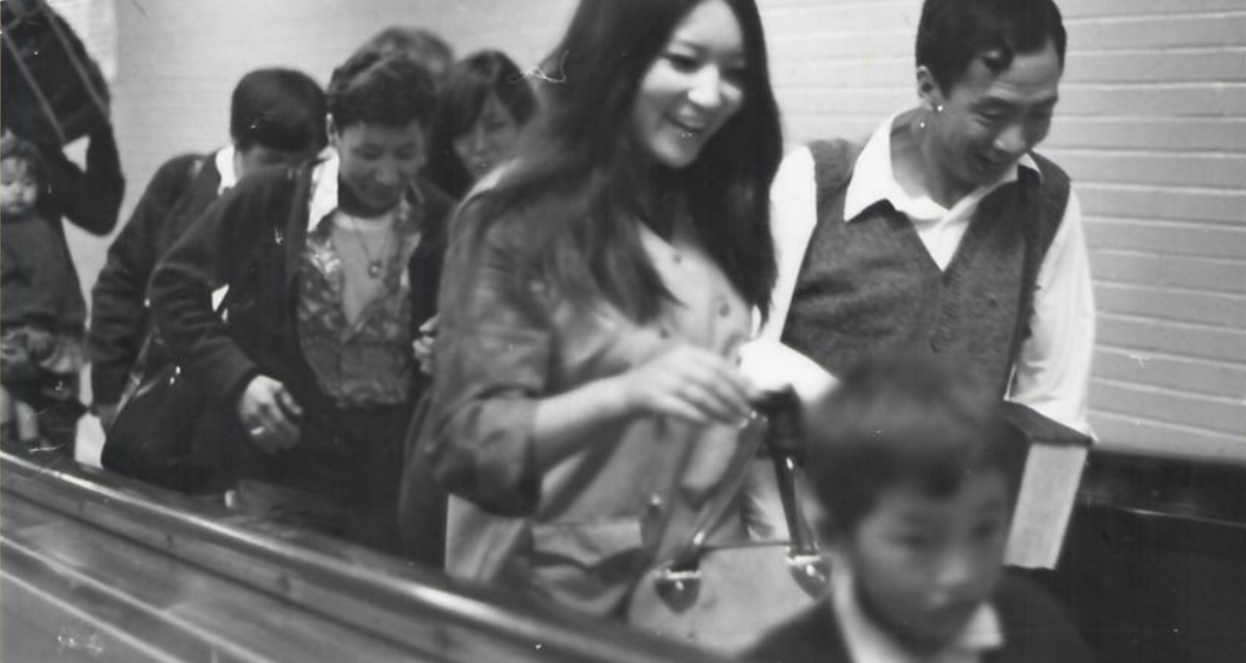 Second group of Tibetans arrive at the Montreal Dorval International Airport (June 31971).