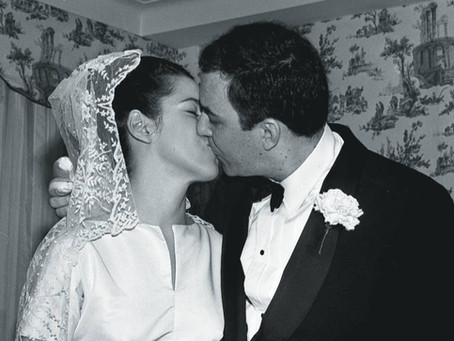O casamento de João Gilberto e Miúcha.