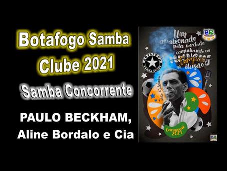 A Escola de Samba Botafogo Samba Clube escolheu João Saldanha como enredo de seu próximo Carnaval