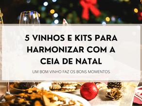 5 Dicas de vinhos e kits para harmonizar com a Ceia de Natal