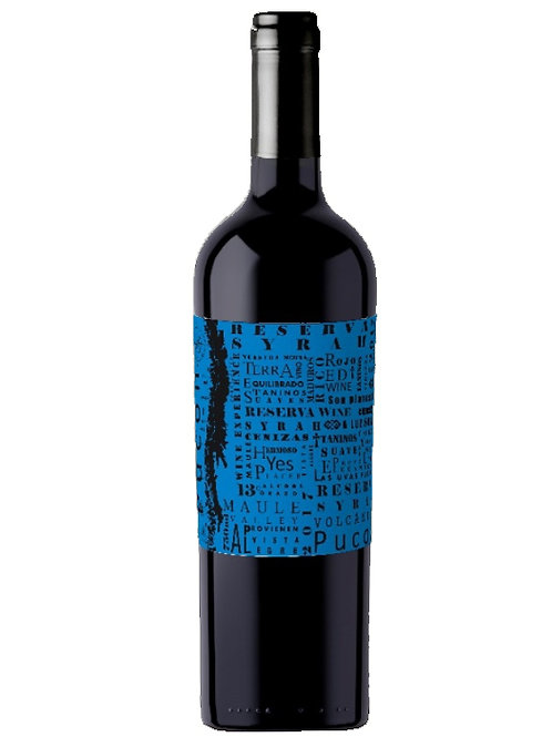 Vinho Chileno Pucon Reserva Syrah 750 mL