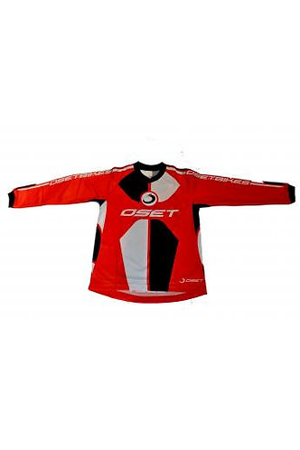 OSET RIDING JERSEY - 'PRO RANGE' (RED)