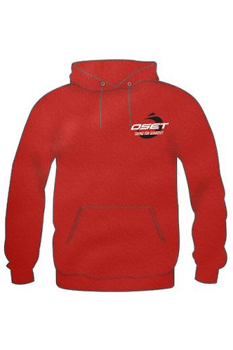 OSET ADULTS 'PULSE' RED HOODIE