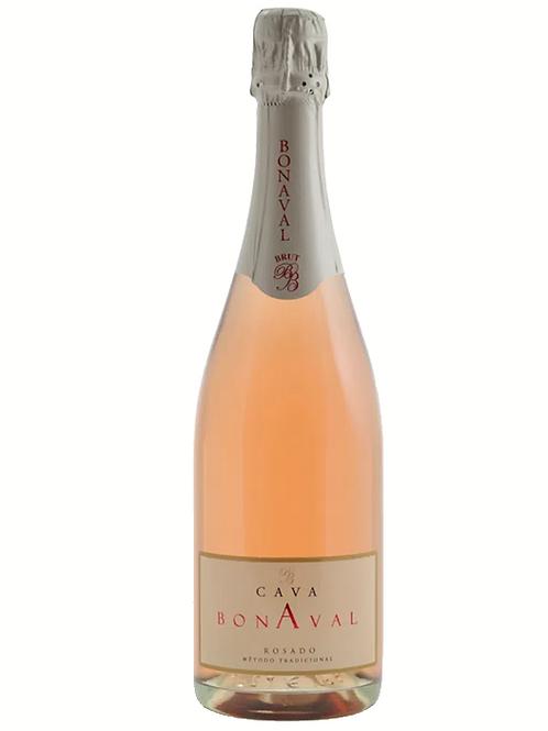 Vinho Espumante Rosé Cava Bonaval Brut  750ml