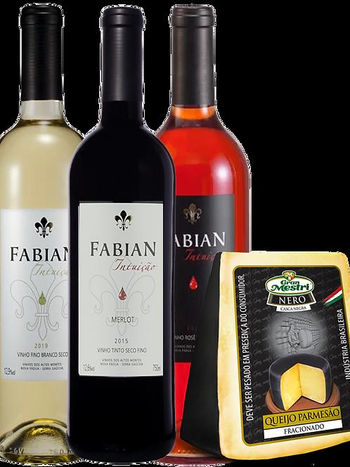 comprar vinho e queijo brasileiro