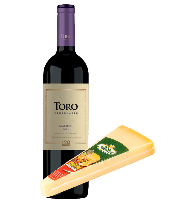 Vinho Malbec Argentino e Grana Padano Black Friday