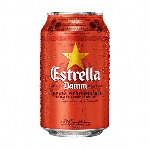 Cerveza 330cl (Estrella Damm)