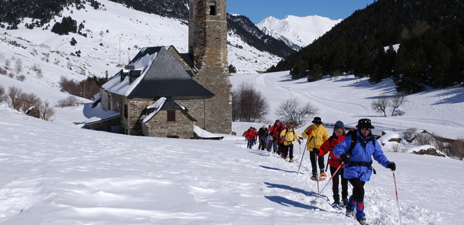 Raquetas de nieve a Montgarri