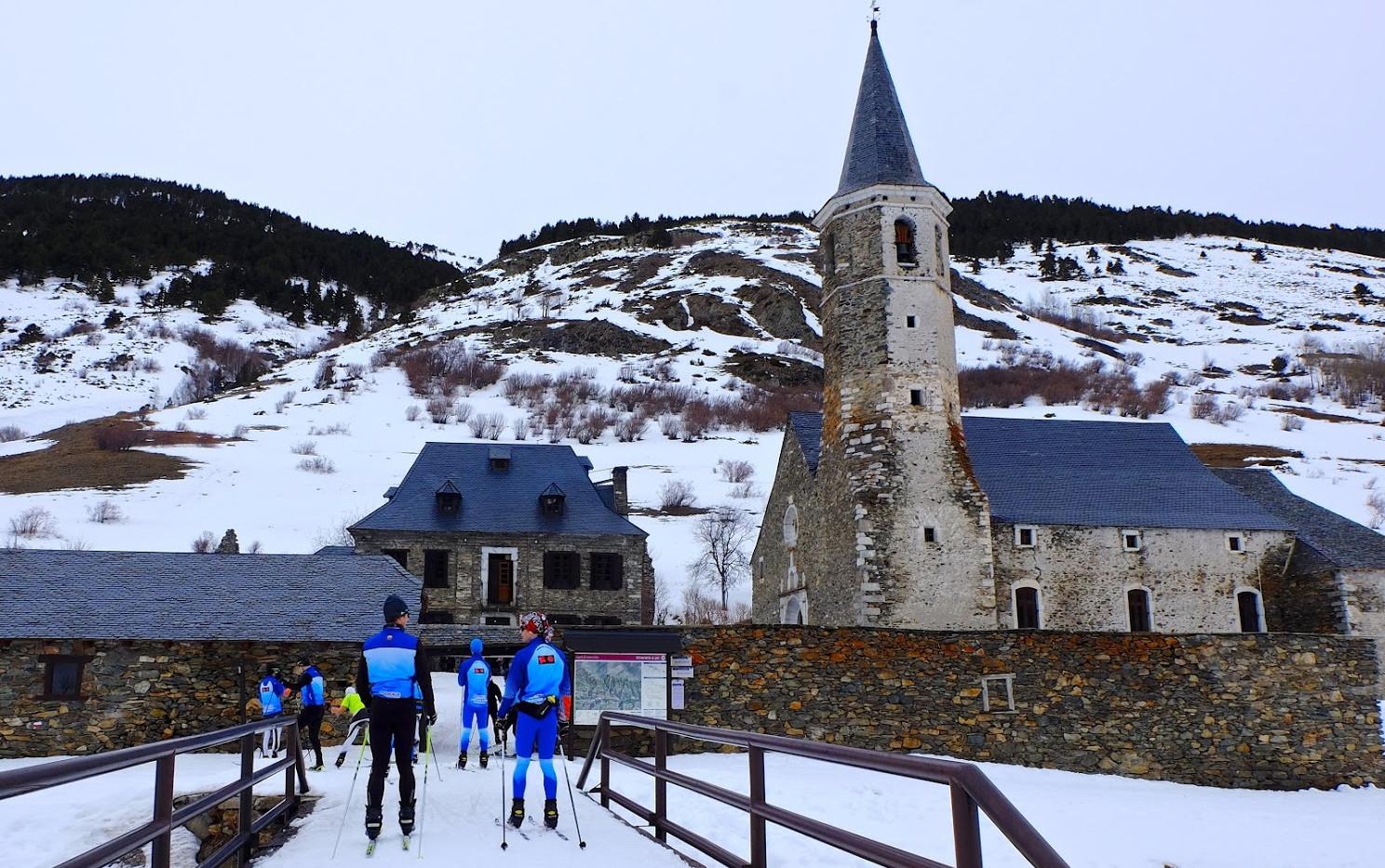 Esquí nordico a montgarri