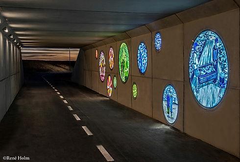 Firkant tunnel, firkanttunnel, tunnel, noroq