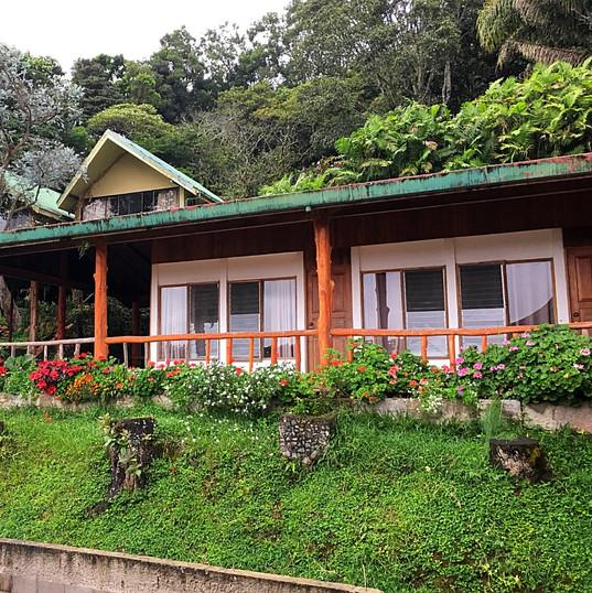 Eco-lodge at La Amistad
