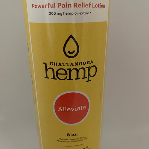 Alleviate Pain Relief Lotion - 8 oz
