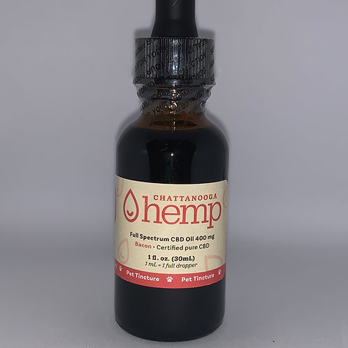 Pet Tincture - Bacon 400 mg