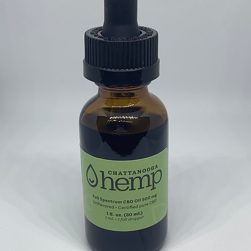 1 fl oz Tincture - 500 mg