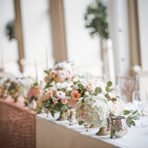 Flower Arrangements.