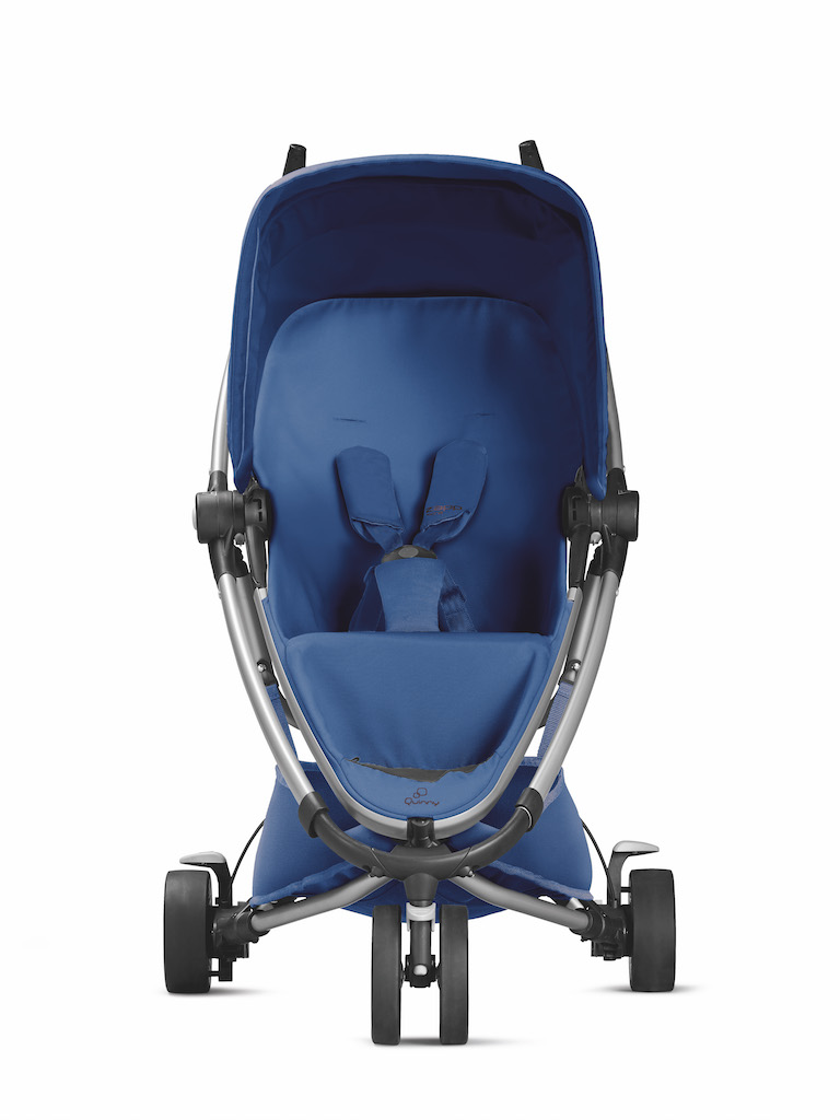 Quinny_ZappXtra2_2015_Blue_Bluebase_Front