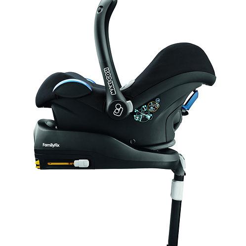 CabrioFix+FamilyFix Black Raven ชุดคาบริโอฟิกซ์ สีดำ (0 - 13 Kgs or 0 - 1.5 Yrs)