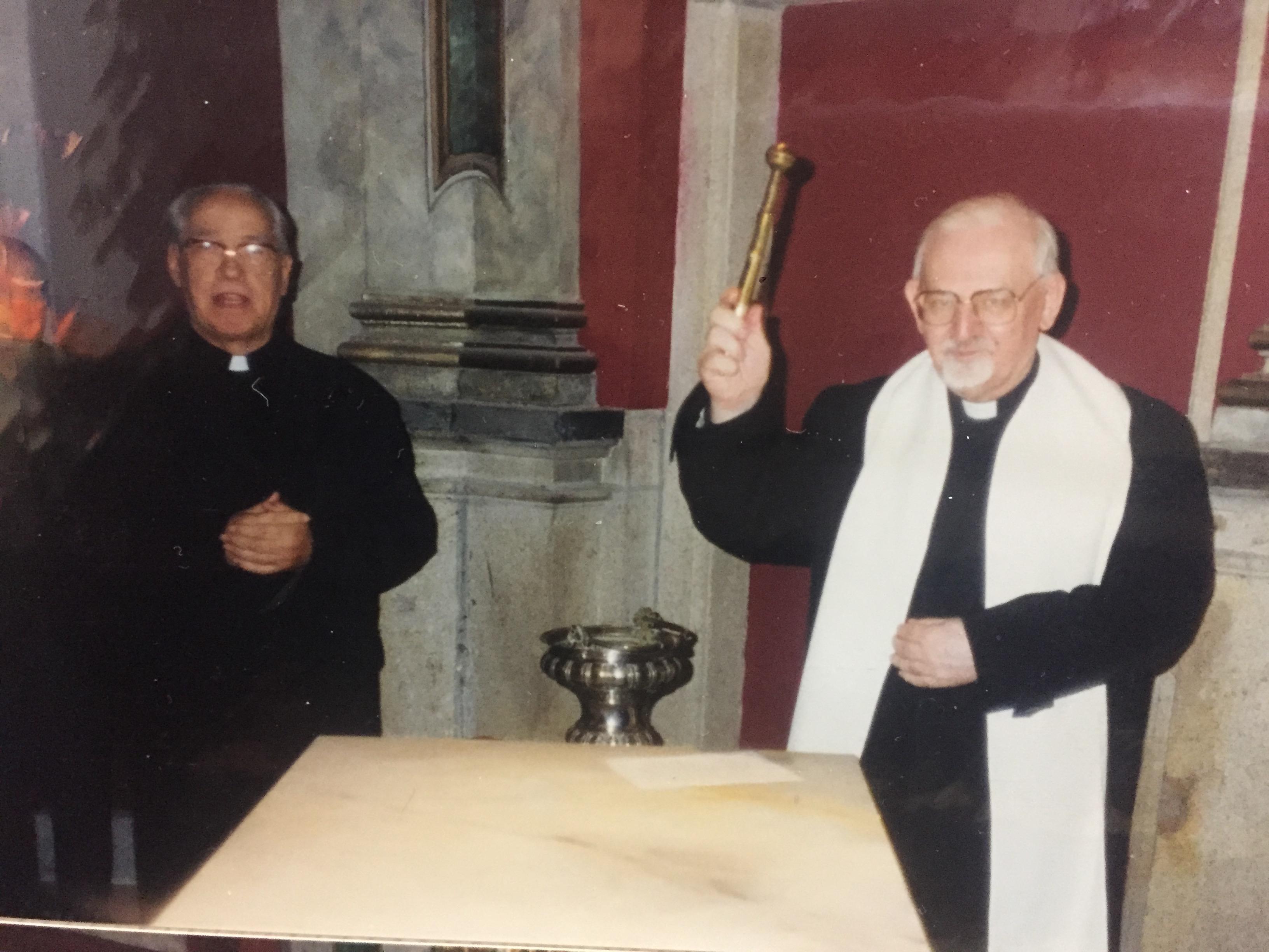 Visita Kolvenbach a Toledo
