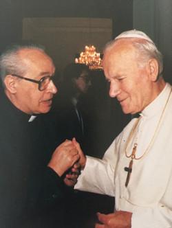 Visita Juan Pablo II