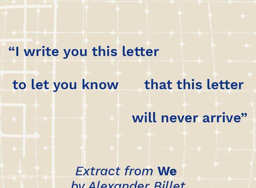POEM: 'We'