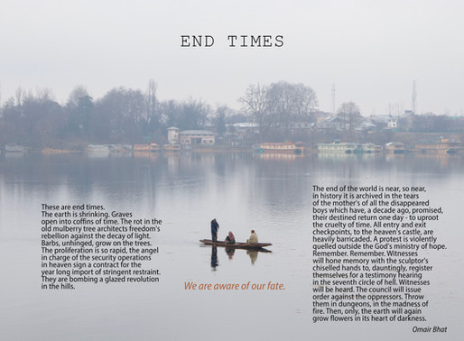 The Blinding Absence of Hope: Omair Bhat