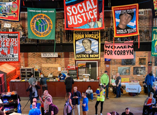 Gaining Momentum: How Art Has Driven The Labour Party's Transformation
