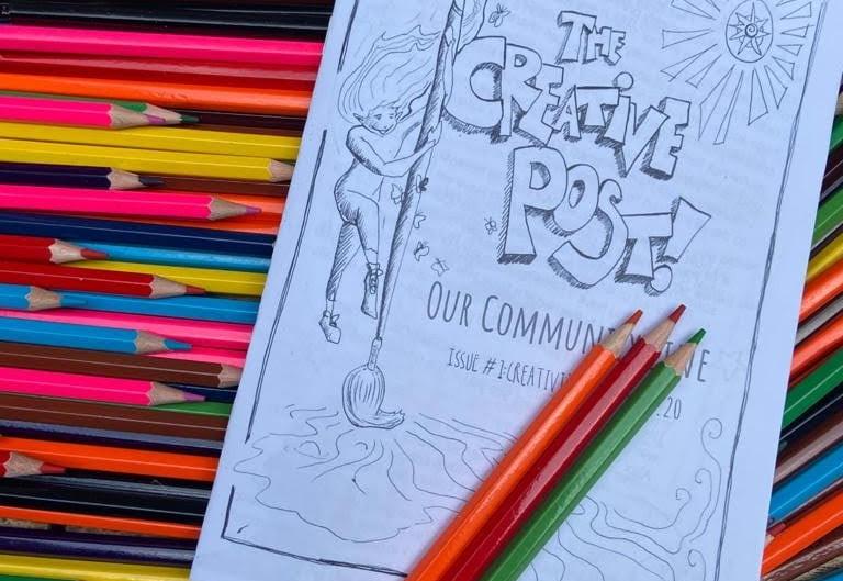 Quarantine Art: The Creative Post Zine