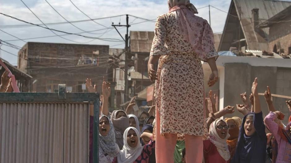 A Lifetime Of Lockdown: Art From Behind Kashmir's Information Blackout