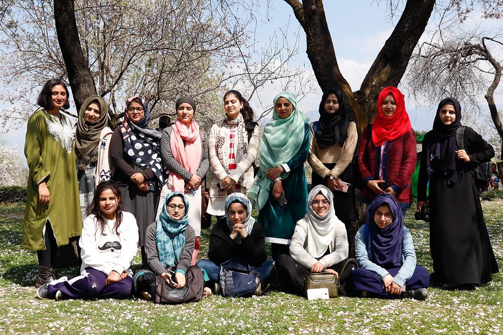 The members of Her Pixel Story. (Photo: Zainab Mufti)